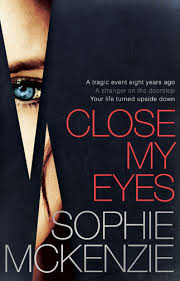 close my eyes book cover for book review by Chloe