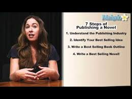 How to publish a novel 7 steps