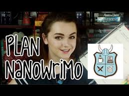 NaNoWriMo Planning
