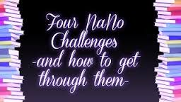 4 NaNoWriMo challenges