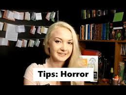 Tips for writing Horor
