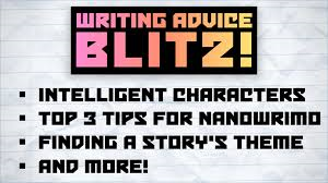 Top 3 Tips for NaNoWriMo