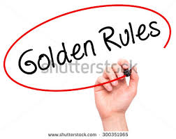 Golden Rules of writing