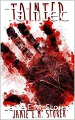 author janie e.m. storer tainted cover