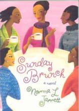 Norma Jarrett Interview_Sunday Brunch Novel cover
